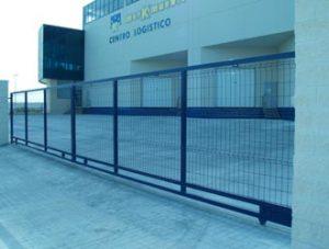 instalacion puertas metalicas corredera